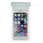 "Outdoor PVC Waterproof Case w/ Lanyard for 5.5"" Phones - Transparent"