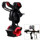 ABS Motorcycle Mount Holder for IPHONE / Tablet + More - Black