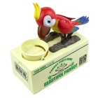 Eat Money Parrot Greedy Birds Electric Funny Piggy Bank