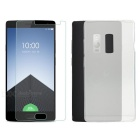Silicone Protective Case + Screen Protector for OnePlus Two - Transparent
