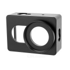 Aluminum Alloy Camera Protective Frame Case Housing + Connector Set for Xiaomi Xiaoyi - Black