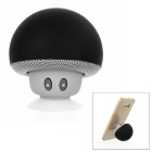 MAIKOU BT280 Mushroom Style Mini Bluetooth V4.0 Speaker w/ Phone Holder - Black + Grey