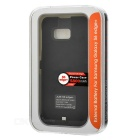 4800mAh Backup Battery Case for Samsung Galaxy S6 Edge+ - Black