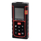 "SW-E50 50m 1.8"" Laser Distance / Area / Volume Meter w/ Bubble Level"