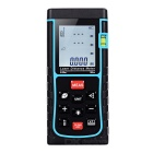 "LDM-E100 100m 1.8"" Laser Distance / Area / Volume Meter w/ Bubble Level - Black + Blue (2 x AAA)"