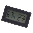 "Mini Indoor Digital 1.56"" LCD Thermometer Hygrometer Meter"