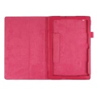 PU Leather Smart Case w/ Stand for Sony Xperia Tablet Z4 - Deep Pink