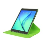 "Lichee Pattern PU Case w/ Stand for Samsung Tab S2 8.0"" - Green"