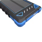 8000mAh 2-USB Solar Power Bank for IPHONE 6 / 6 PLUS + More - Blue