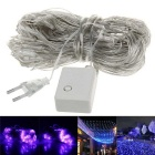 200-LED Christmas Party Wedding Decoration Purple Net Light Fairy Lights (EU Plug / 220V)