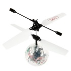 Auto-induction Remote Control Flying Ball Toy w/ Music - White