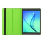 360' Rotation Case w/ Stand for Samsung Galaxy Tab S2 9.7 - Green