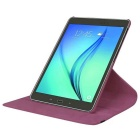 360' Rotation Case w/ Stand for Samsung Galaxy Tab S2 9.7 - Purple