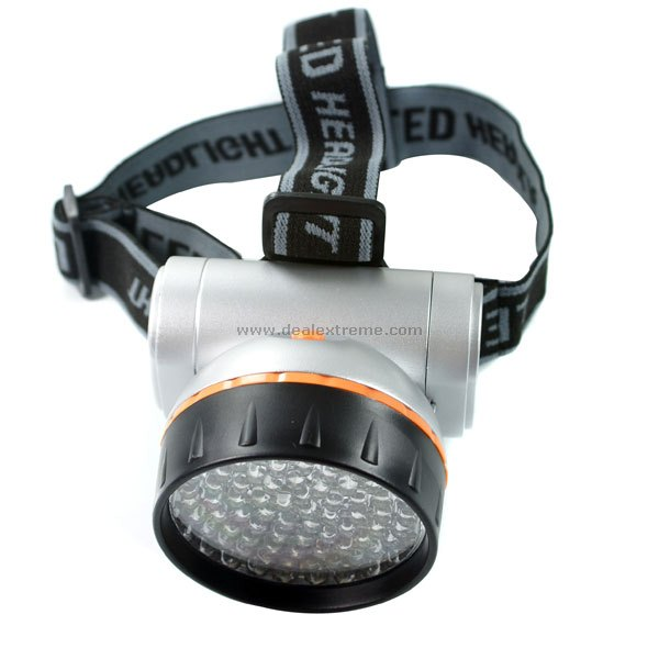 76-LED Mega Headlamp (4xAA)