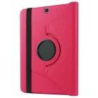 360' Rotation Case w/ Stand for Samsung Galaxy Tab S2 9.7 - Deep Pink