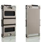 ARMOR KING Sport Protective Aluminum Alloy Full Body Case w/ Two Windows for IPHONE 6 PLUS - Silver