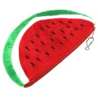 Cute Watermelon Pattern Wallet / Cosmetic Bag - Red + Green (L)