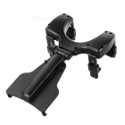 180' Rotation Rearview Mirror Bracket for IPHONE 6 / 6S - Black