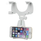 180 Degree Rotation Rearview Mirror Bracket for IPHONE 6 / 6S - White + Black