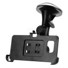 Car Mount Stand + Phone Clip Holder Set for Samsung Galaxy S6 Edge Plus - Black