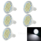 MR11 3W LED Bulb Lamp Bluish White Light 180lm 24-SMD 3528 (12V /5PCS)