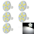 3W Lâmpadas Lâmpadas LED MR11 legal White Light 200lm 15 SMD 5730 (12V / 5PCS)