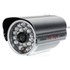 CCD 700TVL HD CCTV Camera w/ 24-IR LED