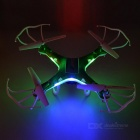 JJRC H5P 4-CH R/C Quadcopter w/ 6-Axis / Gyro / 1.0MP Camera - Green