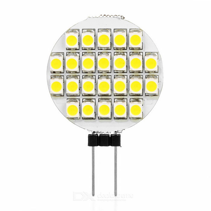 G4 2W LED Modules Cold White Light 160lm 24-SMD 3528 (DC 12V / 5PCS)