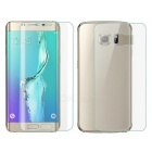 TPU Front + Back Film for Samsung Galaxy S6 Edge Plus - Transparent