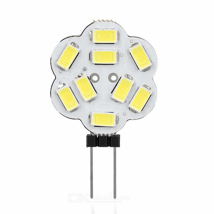 G4 2W 9-5730 SMD 170lm Cold White Lights - White (DC 12V / 5PCS)