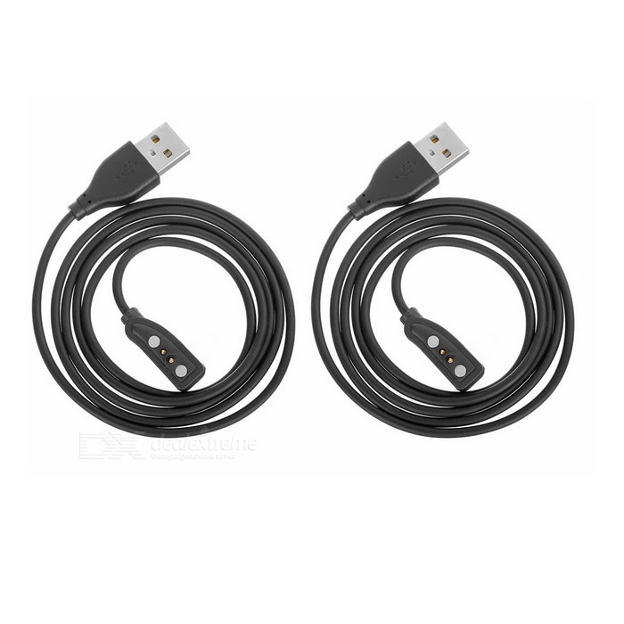 USB 2.0 Cable PEBBLE Smart Wrist Watch Charging Cable (2 PCS / 100cm)