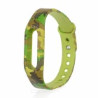 Wrist Band Strap for Xiaomi Smart Bracelet - Camouflage Green