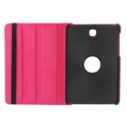 "Lichee Pattern PU Case w/ Stand for Samsung Tab S2 8.0"" - Deep Pink"