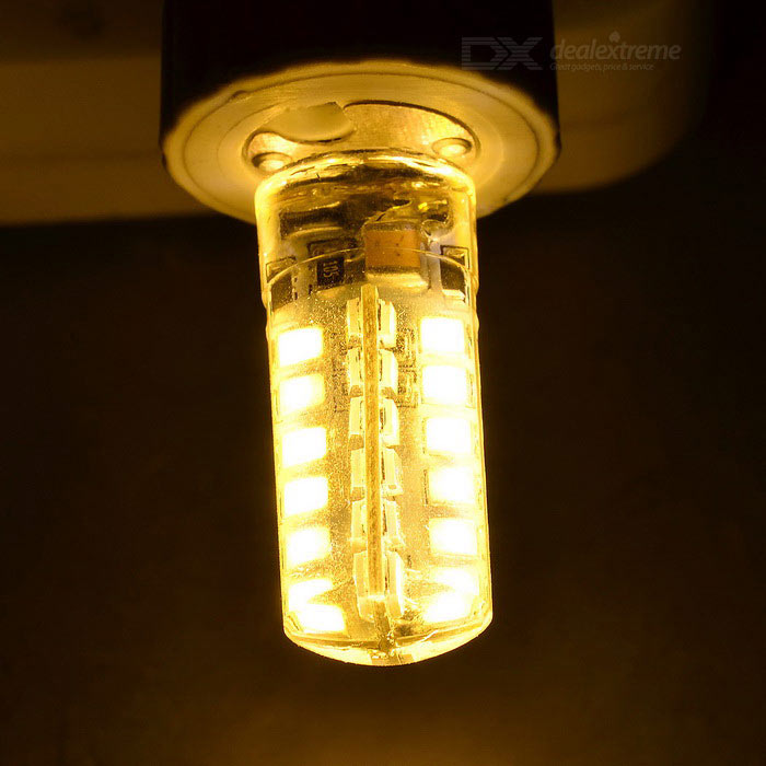 g4 3w led light bulb warm white 3200k 48 smd white yellow 5pcs free shipping dealextreme. Black Bedroom Furniture Sets. Home Design Ideas