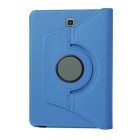 "Lichee Pattern PU Case w/ Stand for Samsung Tab S2 8.0"" - Sky Blue"