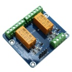 2-Channel 5V Low Level Dual Power Relay Module - Green + Orange