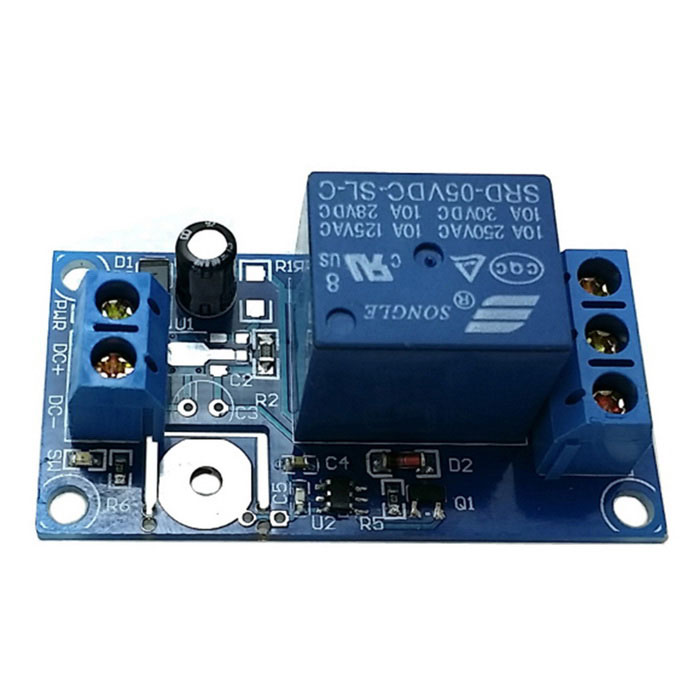 1-Channel 5V Touch Relay Module - Blue
