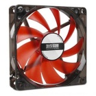 MAIKOU 025A PC Chassis Cooling Fan - Black + Red
