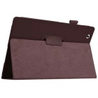 PU Leather Smart Case w/ Stand for Sony Xperia Tablet Z4 - Brown