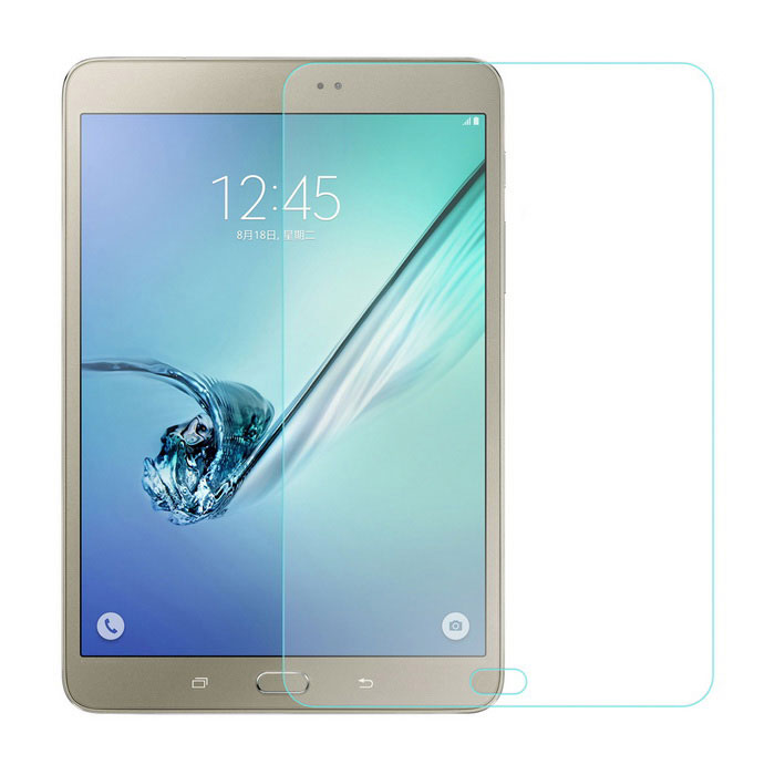angibabe 0.4mm glas screen protector voor samsung tab S2 - transparant