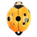 Marienkäfer-Art-6-Loch C-Key Ocarina Musikinstrument - Orange