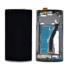 Skiliwah LCD Touch Screen Digitizer Assembly + Front Frame Tool Set for Oneplus