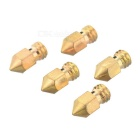 MK8 Copper M6 3D Printer Extruder Head Nozzles for Makerbot (5PCS)