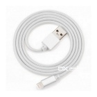 Yellowknife relámpago cable de 8pin para IPHONE 6 - gris + plata (1m)