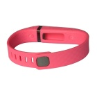 3D Stereo Texture TPE / TPU Wristband for Fitbit Flex - Deep Pink