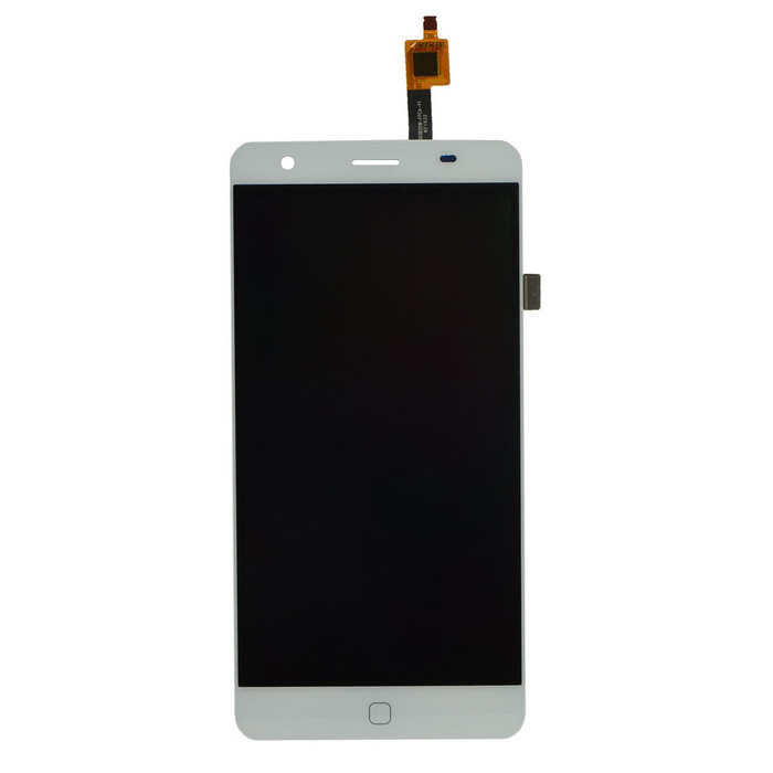 Practical Replacement Touch Screen LCD Panel Glass Assembly for Elephone P7000 - White