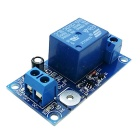 1-Channel 12V Touch Relay Module - Blue