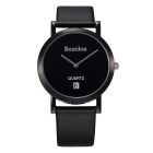 BESTDON BD9951G Men's Fashionable Simple Waterproof Quartz Wrist Watch - Black (1 x SR621)