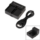Battery Charger for SONY F550 / F750 / F730 / F960 / F960H - Black (US Plug)